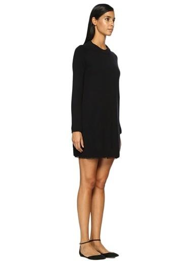 Beymen Collection Uzun Kollu Triko Elbise Lacivert